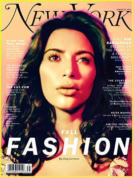 Kim Kardashian Covers 'New York' Magazine's Fashion Issue