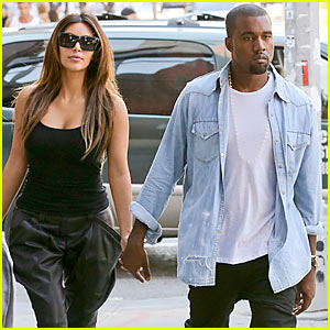 Kim Kardashian & Kanye West: Big Apple Lovin'