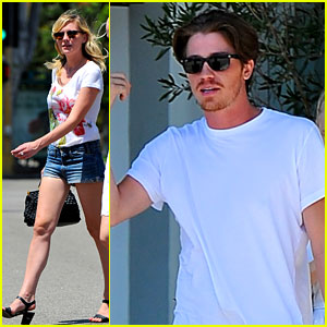 Kirsten Dunst &#038; Garrett Hedlund: Olive &#038; Thyme Brunch!