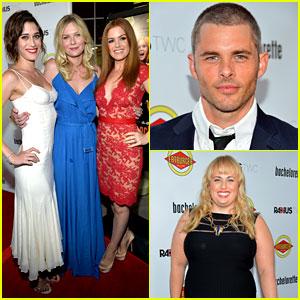 Kirsten Dunst & James Marsden: 'Bachelorette' Premiere!