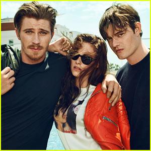 Kristen Stewart: 'Marie Claire' Feature with Garrett Hedlund & Sam Riley!