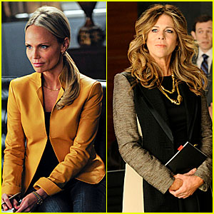 Kristin Chenoweth & Rita Wilson: 'Good Wife' First Look Pics!