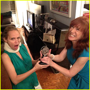 Kristin Chenoweth's Tony Award: Stolen By Kathy Griffin!