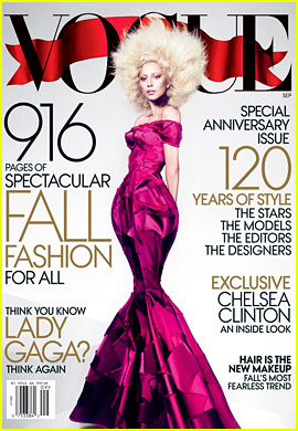 Lady Gaga Covers 'Vogue' September 2012