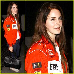 Lana Del Rey: Ferrari Fierce at Chateau Marmont