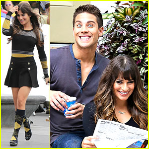 Lea Michele: 'Glee'ful with Dean Geyer!