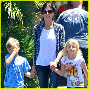 Liberty Ross Steps Out with Kids Post Cheating Scandal