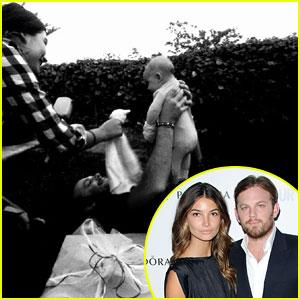 Lily Aldridge & Caleb Followill Debut Baby Dixie Pearl