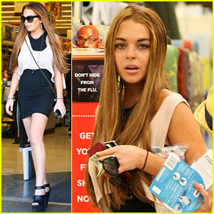 Lindsay Lohan: CVS Pharmacy Errands
