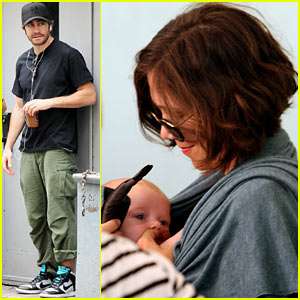 Jake & Maggie Gyllenhaal: 'Very Good Girls' Set with Baby Gloria!