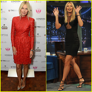Maria Sharapova: Hamptons Magazine Cover Party!
