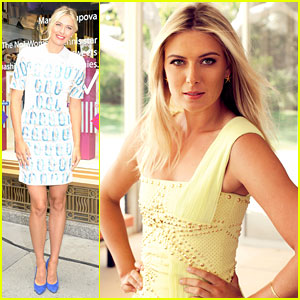 Maria Sharapova: Sugarpova Launch & 'Hamptons' Cover!