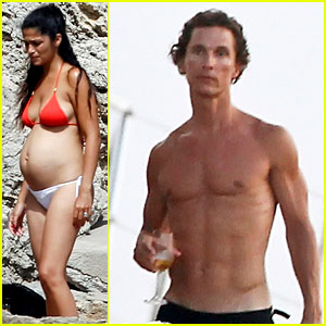 Matthew McConaughey & Camila Alves: Ibiza Vacation!