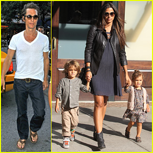 Matthew McConaughey: Solo Soho Stroll
