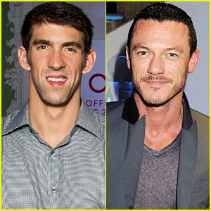 Michael Phelps & Luke Evans: Omega's Spotlight on Swimming!