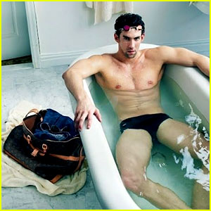 Michael Phelps: Louis Vuitton Ad in Speedo!