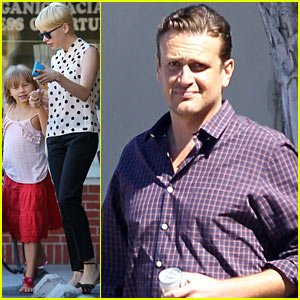 Michelle Williams & Jason Segel: KindKreme with Matilda!
