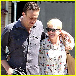 Michelle Williams & Jason Segel: Lunch in Los Feliz!