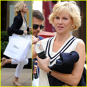 Naomi Watts Films 'Diana' Chase Scene