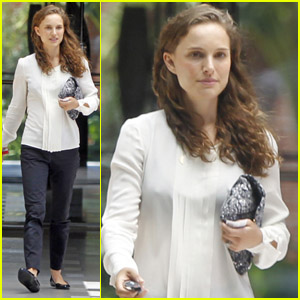 Natalie Portman: Back to Work After Wedding!