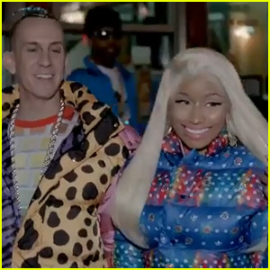 Nicki Minaj: 'Adidas Originals' Ad with Jeremy Scott!