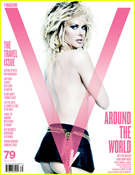 Nicole Kidman: Topless for 'V Magazine'!