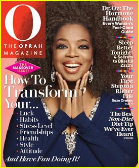 Oprah Winfrey: All Natural on 'O' Magazine!