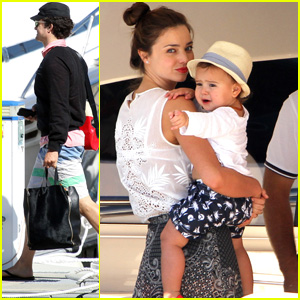Orlando Bloom & Miranda Kerr: Cruise Vacation!
