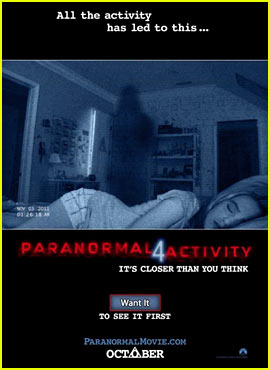 'Paranormal Activity 4' Trailer & Poster Released!