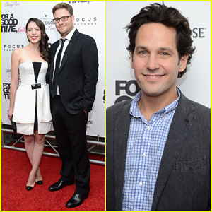 Paul Rudd & Seth Rogen: 'For a Good Time, Call' Premiere!