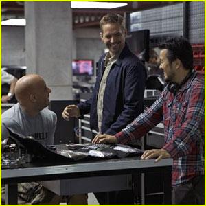 Paul Walker & Vin Diesel: 'Fast Six' First Set Pic!