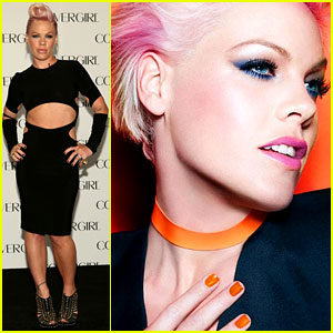 Pink: CoverGirl's New Face!