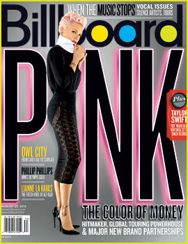 Pink Covers 'Billboard' August 2012