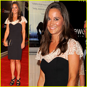 Pippa Middleton: 'Shadow Dancer' Premiere with Clive Owen!