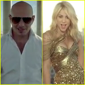 Pitbull & Shakira's 'Get It Started' Video Premiere - Watch Now!