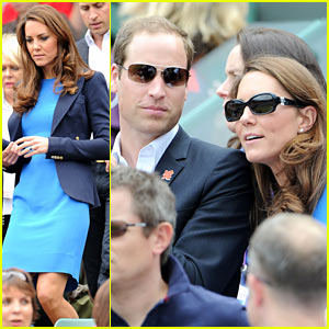 Prince William & Duchess Kate Cheer on Britain's Andy Murray!