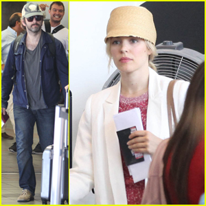 Rachel McAdams: Flying with Michael Sheen!