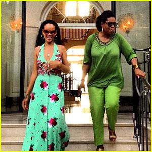 Rihanna: Barbados with Oprah Winfrey!