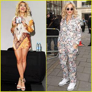 Rita Ora: Album Signing in Manchester!