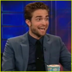 Robert Pattinson: 'Daily Show' Appearance - First Interview