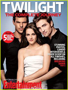 Kristen Stewart & Robert Pattinson Cover 'Twilight: The Complete Journey'