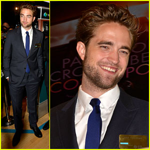 Robert Pattinson Rings Bell at New York Stock Exchange!