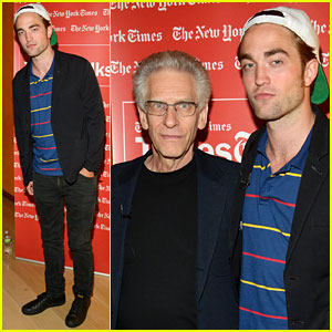 Robert Pattinson: Times Talks with David Cronenberg!