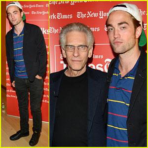 Robert Pattinson: Times Talks with David Cronenberg!