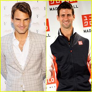 Roger Federer & Novak Djokovic: US Open Starts Next Week!