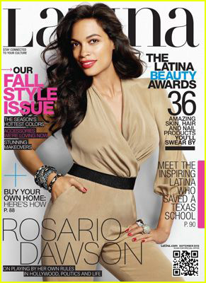 Rosario Dawson Covers 'Latina' Magazine September 2012