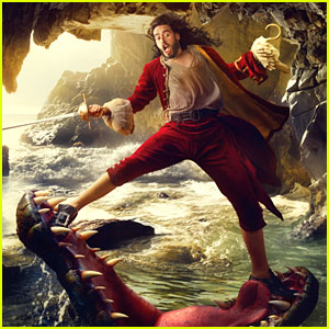 Russell Brand: Captain Hook in Disney Parks Ad Campaign!
