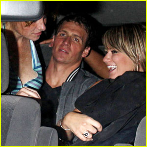 Ryan Lochte: Backseat Pileup After Olympics Party!