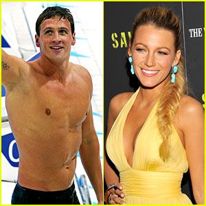 Ryan Lochte's Celeb Crush: Blake Lively!