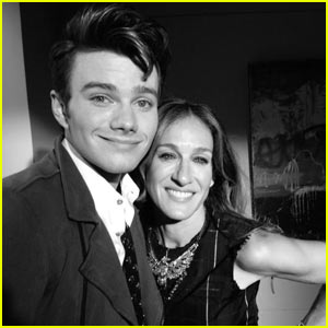 Sarah Jessica Parker on 'Glee' - First Look Pic!